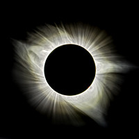 Totality - Inner Corona Emphasis Short Dynamic Range-2