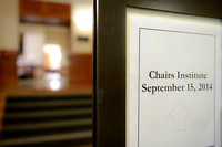 Stanford University Chairs Institute 2014-7