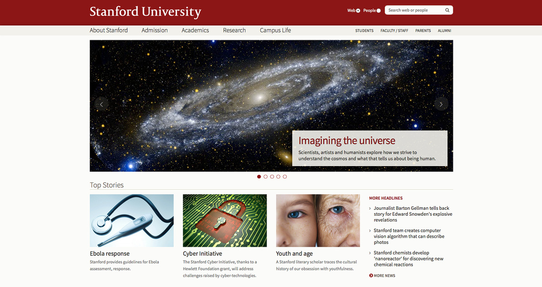 Stanford front page
