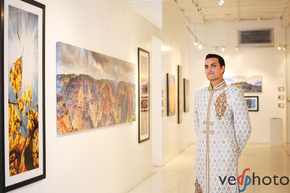 Above Below and In-Between Exhibition by Ved Chirayath