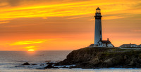 Pigeon Point Light Station at Sunset